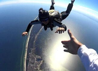 Pasja - skoki spadochronowe